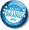 UNIQA Most trusted Brand logo